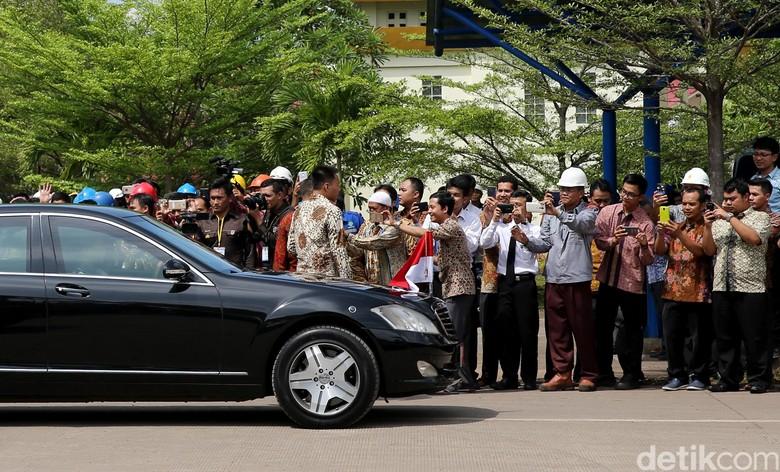 Mobil dinas presiden. Foto: Ari Saputra