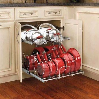 Kabinet Atau Tempat Penyimpanan Bisa Dibuat Di Bagian Atas Dan Bawah Untuk Menyimpan Peralatan Dapur Mulai Dari Panci Wajah Piring