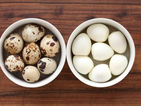 Walaupun kecil, telur puyuh kaya gizi