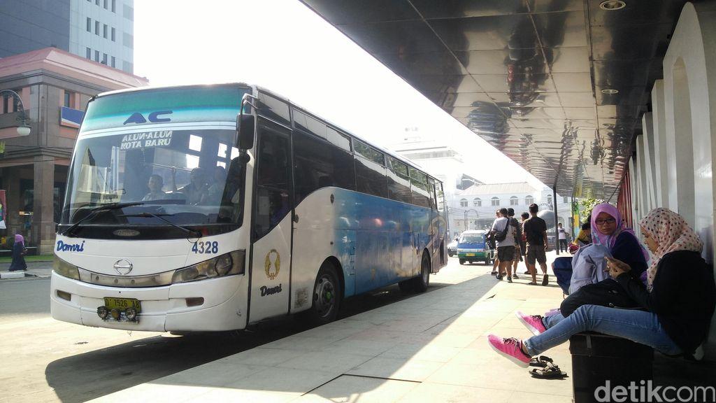 Bus Damri Gratis Cimahi-BIJB Diperpanjang hingga Agustus 2020