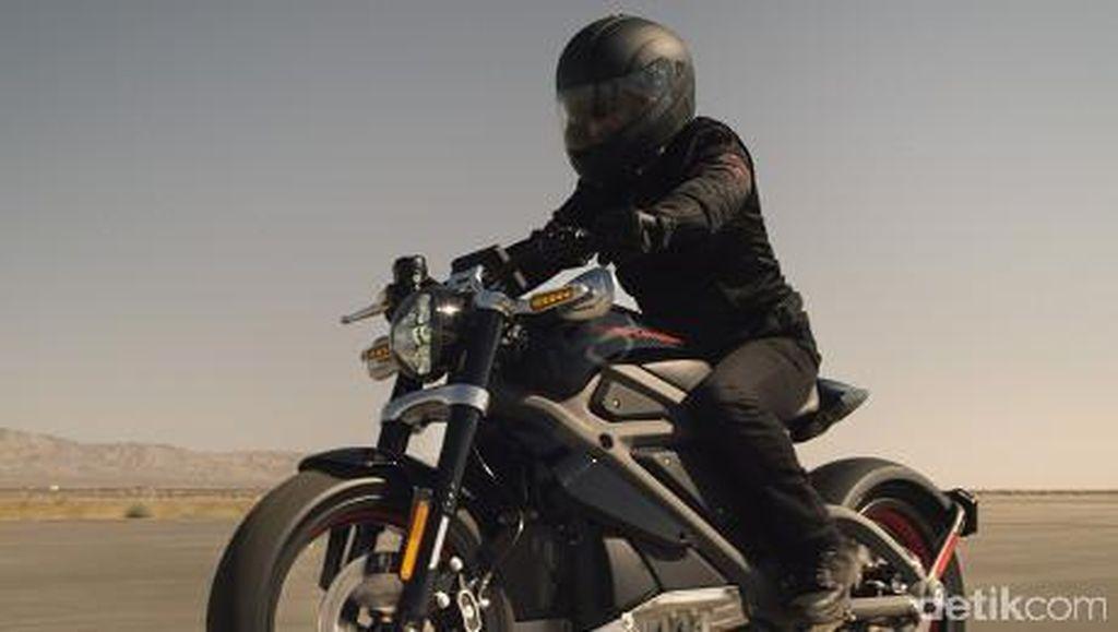 Motor Pertama Harley-Davidson yang Tak Berasap dan Senyap