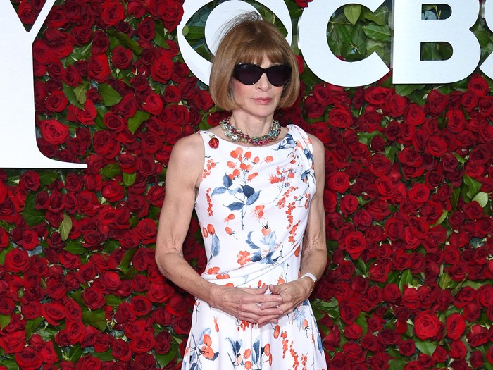 NEW YORK, NY - JUNE 12: Anna Wintour attends the 70th Annual Tony Awards at The Beacon Theatre on June 12, 2016 in New York City.  (Photo by Dimitrios Kambouris/Getty Images for Tony Awards Productions)