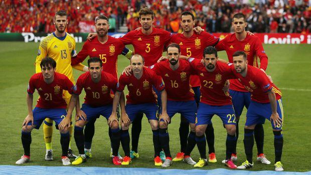 Timnas Spanyol menjadi salah satu kandidat juara di Piala Dunia 2018.