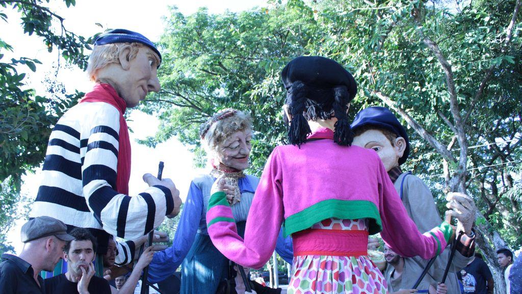 Ogoh-ogoh Prancis Sukses Ramaikan Pesta Kesenian Bali ke-38