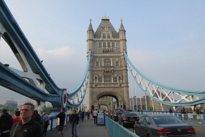 Tower Bridge, landmark Kota London