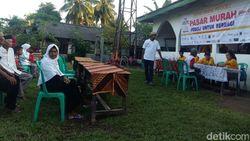 Tomy Winata Gelar Pasar Murah di Pedalaman Lampung