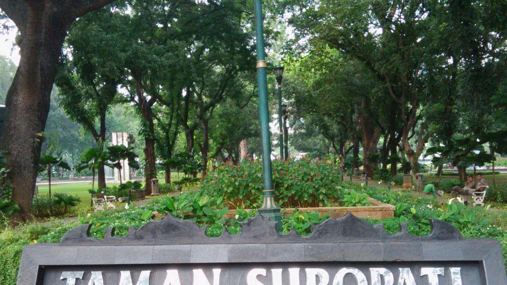 Penjelasan Polisi soal Pospol Taman Suropati 2 Lantai yang Disorot