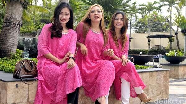 Penampilan Tertutup Trio Macan di Bulan Ramadan