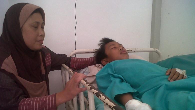 Petasan Meledak, Jari Bocah di Demak Terpaksa Diamputasi