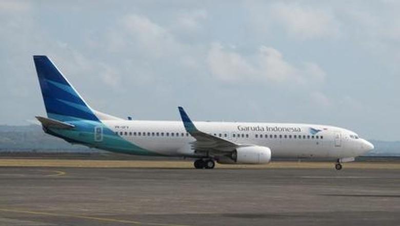 Foto: Ilustrasi pesawat Garuda Indonesia (Afif/detikTravel)