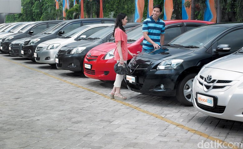 Mobil bekas. Foto: mobil88