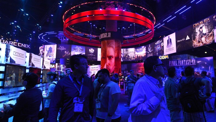 E3 2016. Foto: Gettyimages