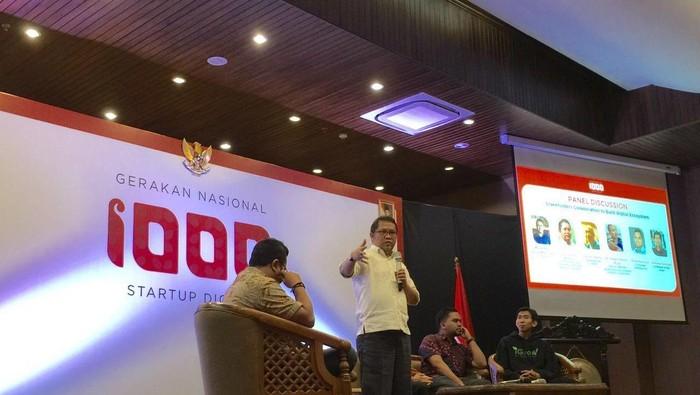 Kick Off Gerakan Nasional 1.000 Startup Digital (detikINET/Achmad Rouzni Noor II)