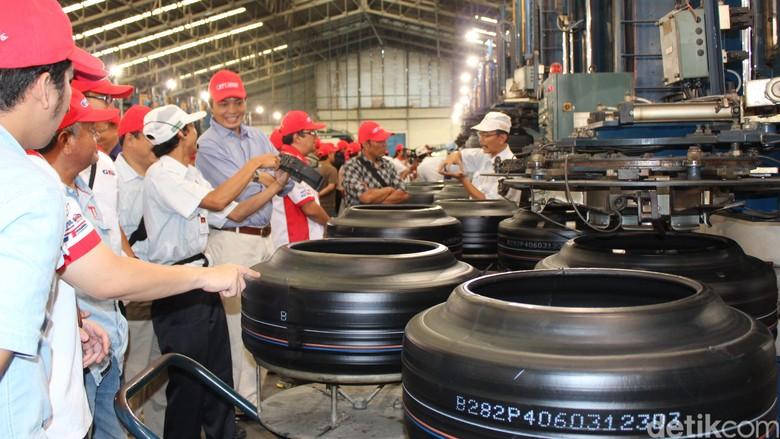 Pabrik ban GT Radial Foto: dok detikOto