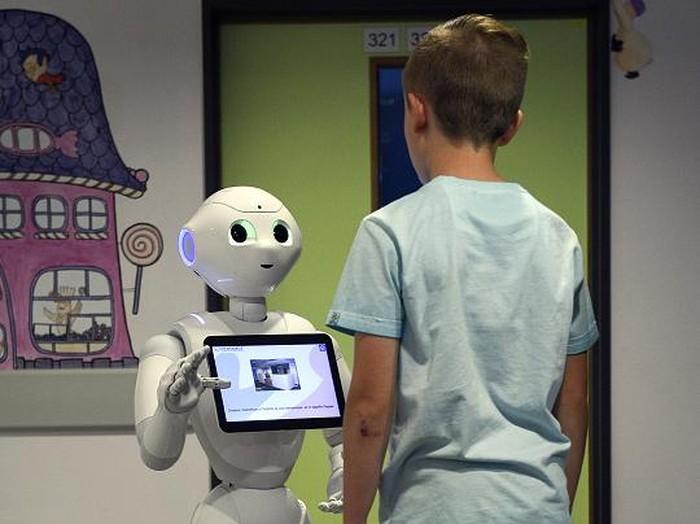 Robot Humanoid. Foto: JOHN THYS/AFP/Getty Images
