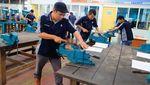 Menteri Hanif Tinjau Balai Latihan Kerja di Padang