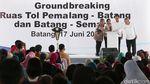 Groundbreaking Tol Pemalang-Batang & Batang-Semarang