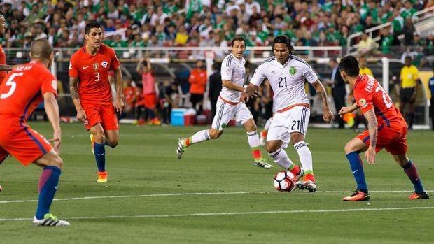 Timnas Meksiko selalu mentok di perdelapan final dalam enam edisi Piala Dunia terakhir.