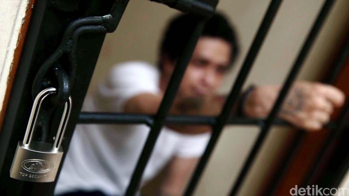 Ilustrasi pasien rehabilitasi narkoba (Foto: Hasan Alhabshy)
