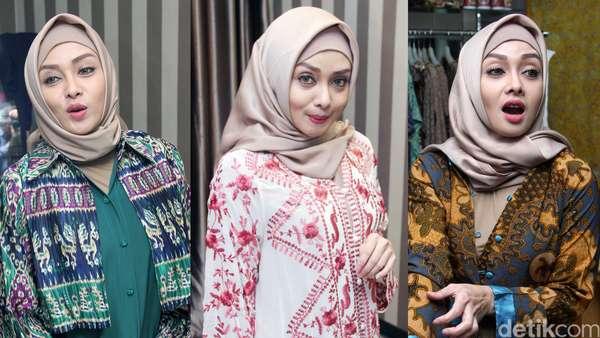 Mengintip Terry Putri Belanja Baju Lebaran