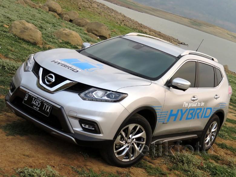 Nissan X-Trail Hybrid. Foto: dok detikOto