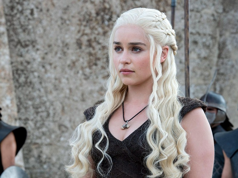 Emilia Clarke ngaku dipaksa telanjang di Game of Thrones. Foto: Dok. HBO