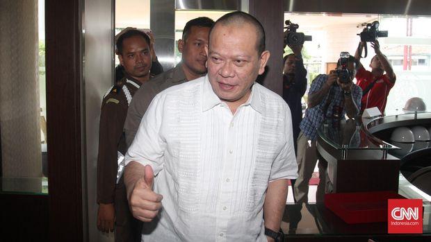 La Nyalla Mattalitti sempat ditahan karena kasus korupsi IPO Bank Jawa Timur. (