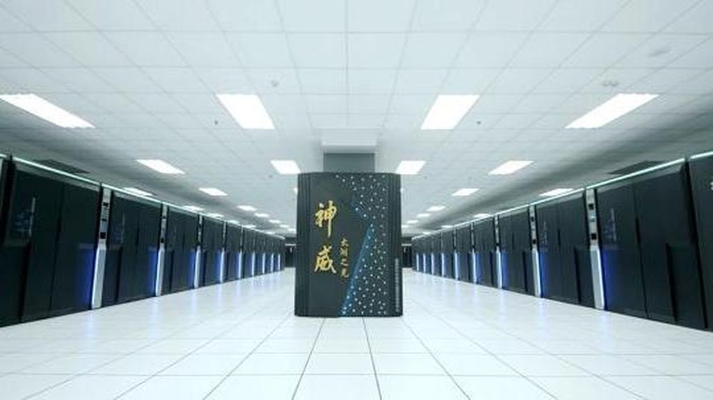 China Dominasi Produksi Komputer Super