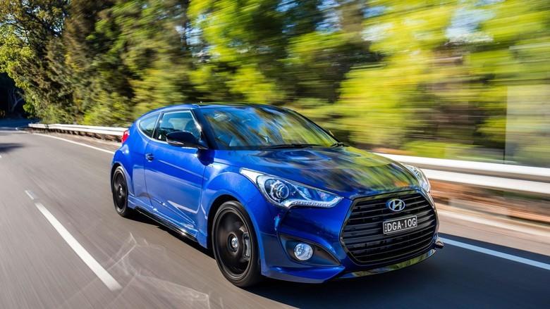 Hyundai meluncurkan Veloster Street Turbo edisi terbatas. Mobil ini hanya dibuat sebanyak 200 unit untuk pasar Australia.