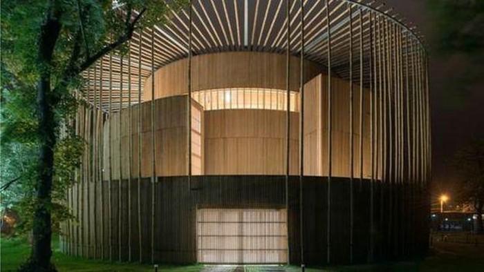 Gedung teater Shakespeare Globe di Prancis