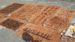 Lukisan Kulit Kayu dari Sentani, Terkenal Hingga Mancanegara