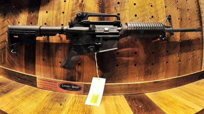 In January 2013, the state of New York made it illegal to sell military-style rifles, passing what it considers some of the toughest gun safety laws in the country (AFP Photo/Karen Bleier)