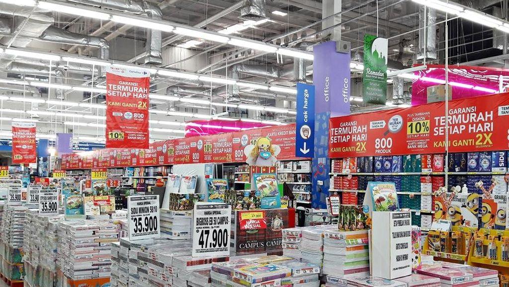 Diskon Aneka Buku Tulis Hingga 50% di Transmart Carrefour