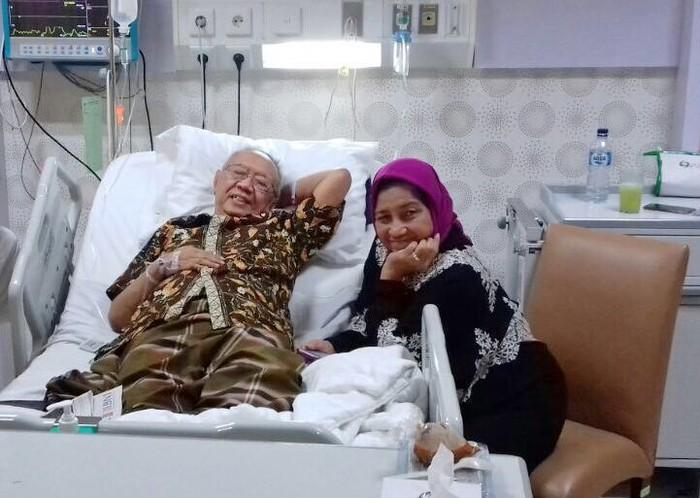 Gus Solah dirawat di rumah sakit