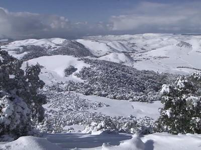 Masya Allah, Ada Salju di Maroko!