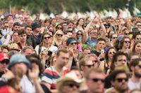 Keseruan Festival Glastonbury.