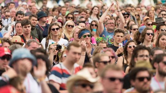 Keseruan Glastonbury Festival 2016