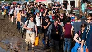 Kemeriahan Glastonbury Festival