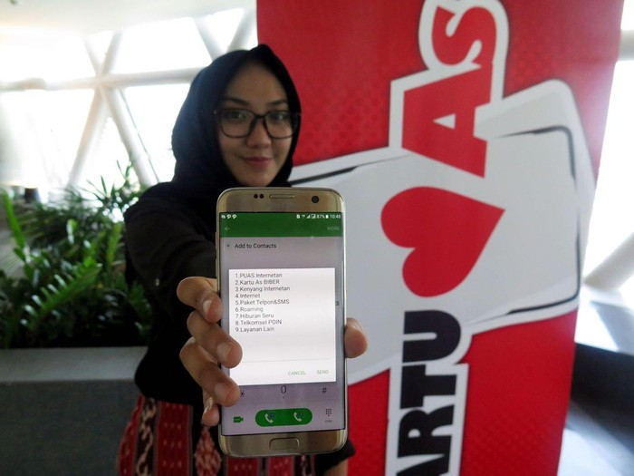 Paket Internet Kartu As/Foto: dok. Telkomsel