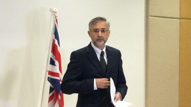 Dubes Inggris untuk RI Moazzam Malik.