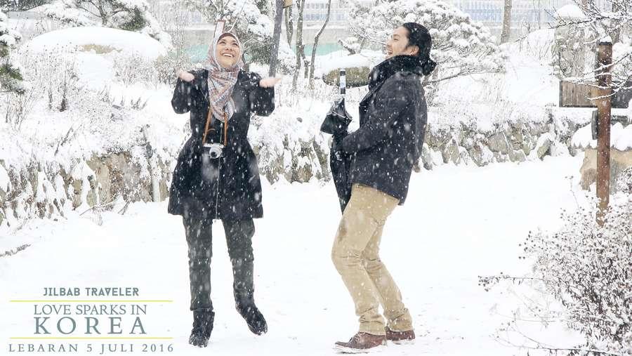 Cinta Segitiga Antara BCL, Morgan dan Giring di Jilbab Traveler