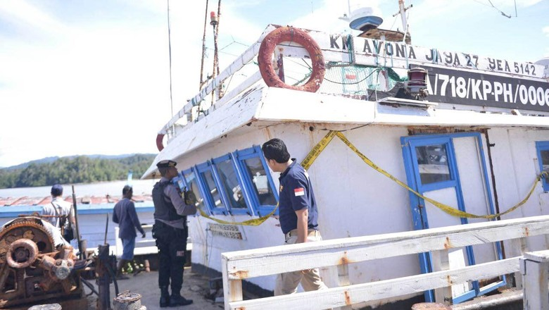 Melihat 15 Kapal yang Disita Satgas Illegal Fishing 115 di Kaimana Papua Barat