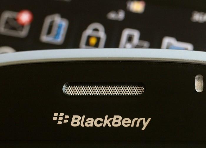 Ilustrasi BlackBerry. Foto: Reuters