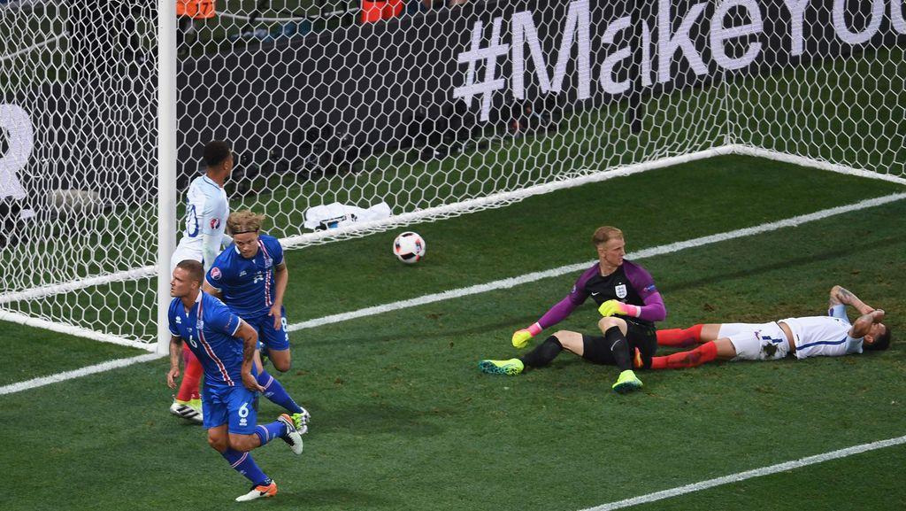 Islandia Vs Inggris: Dendam Tiga Singa atas Kisah Pahit Euro 2016
