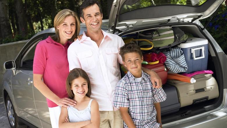Ilustrasi liburan keluarga (Thinkstock)