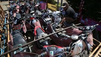 Sepeda motor ini akan diberangkatkan Yogyakarta dan semarang.
