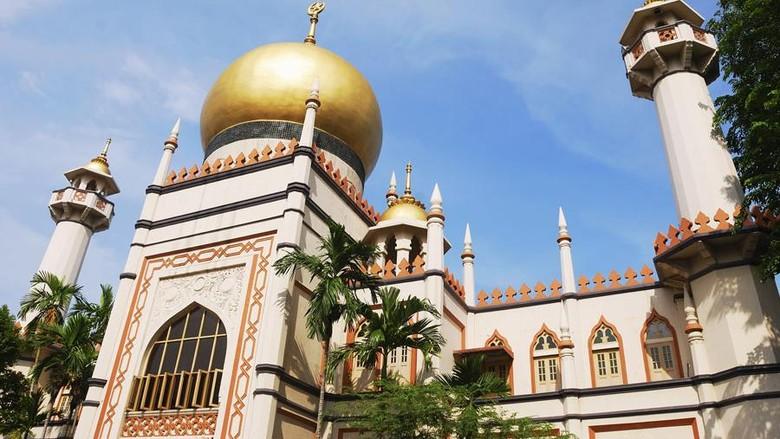 Foto: Masjid Sultan di Singapura (Thinkstock)