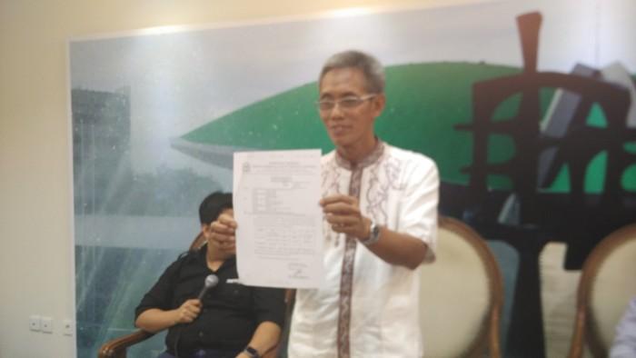 Kepala Biro Kerjasama Antar Parlemen Saiful Islam (Wisnu Prasetiyo/detikcom)