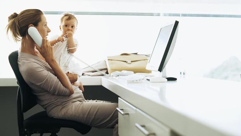 Ketika Ibu Merasa Nggak Punya Cukup Waktu Bersama Anak/ Foto: Thinkstock