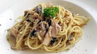 Masak Apa Hari Ini : Sup Texas dan Spaghetti Jamur yang Lezat